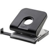 Locher Master 025-0306 schwarz bis 2,5mm 25 Blatt mit Anschlagschiene