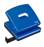 Locher C225 025-0382 blau bis 2,5mm 25 Batt mit Anschlagschiene