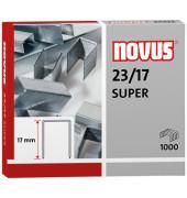 Heftklammern 23/17 SUPER verzinkt 1000 Stück