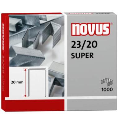 Heftklammern Super 23/20 verzinkt 1000 Stück