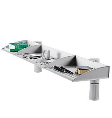 BoardMaster mit Zwinge lichtgrau 100cm breit