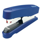 Heftgerät B10F Flat-Clinch blau bis 20 Blatt für Nr 10