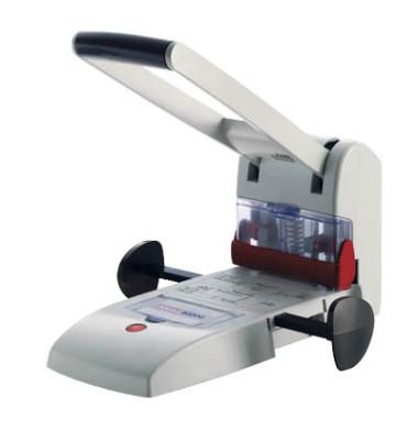 Registraturlocher B2200 025-0488 grau bis 20mm 200 Blatt mit Anschlagschiene