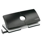 Doppellocher B425 025-0245 schwarz bis 2,5mm 25 Blatt mit Anschlagschiene