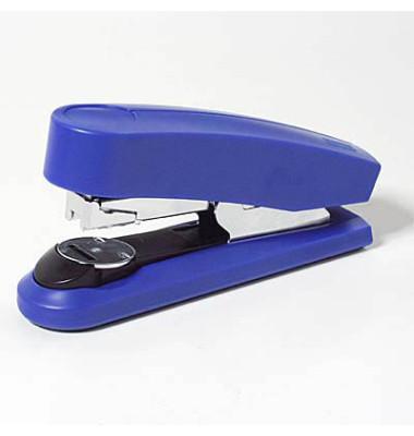 Heftgerät B4 Flat Clinch blau bis 50 Blatt für 24/6 24/8 26/6 bis 26/8