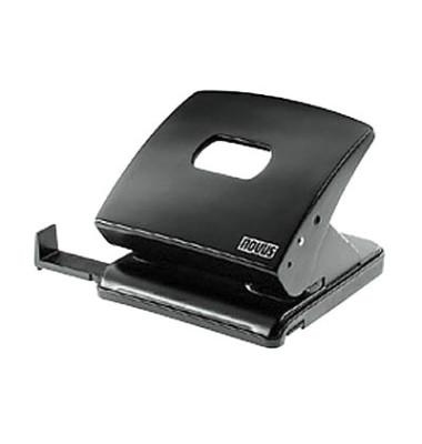 Locher C225 025-0381 schwarz bis 2,5mm 25 Batt mit Anschlagschiene