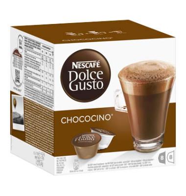 Kapseln Chococino Kakao 194g Dolce Gusto 2 x 8 Stück