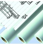 Plotterpapier Standard IJM 020 914mm x  91m 90g weiß unbeschichtet 1 Rolle