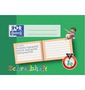 Schreiblernheft A5 quer Lineatur 1q liniert weiß 16 Blatt