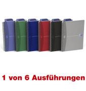 Spiral-Notizbuch Office Urban 100102938 farbig sortiert A5 kariert 90g 90 Blatt 180 Seiten