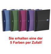 Spiral-Notizbuch Office Urban 100101300 farbig sortiert A5 liniert 90g 90 Blatt 180 Seiten