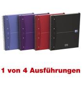 European Book A5plus sortiert 90g 100 Bl kariert
