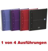 Collegeblock Office 100104738, A4+ kariert, 90g 120 Blatt, 4-fach-Lochung, mit Register