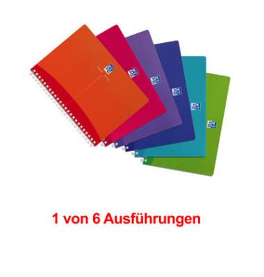 Collegeblock My Colours A5 farbig sortiert liniert 90 Blatt