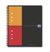 Collegeblock Work 100102880, A5+ kariert, 80g 80 Blatt, 4-fach-Lochung, mit Register