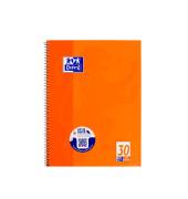 Collegeblock 100050359, A4 blanko, 90g 80 Blatt, 4-fach-Lochung