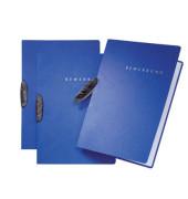 Bewerbungsmappe 22004 Basic Swing mit Clip A4 bis 15 Blatt blau