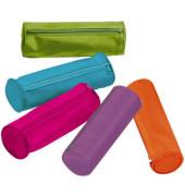 Federmappe Trend farbig sortiert 22x7cm Nylon