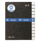 Pultordner 24241 A4 A-Z schwarz 24-teilig