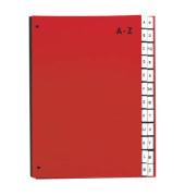 Pultordner 24249 A4 A-Z rot 24-teilig