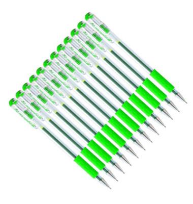 Tintenroller Gel ausw. Mine grün D 0,3mm Hybrid