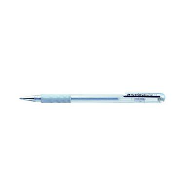 Gelschreiber Hybrid K118M Grip silber 0,8 mm