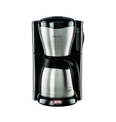 ThermInox Kaffeeautomat HD754620 schwarz/silber 1000 Watt