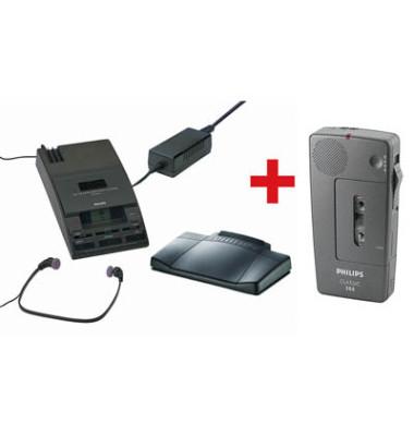 Diktier-und Wiedergabegerät LFH0064 schwarz