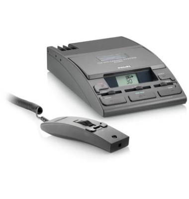 Diktier-/Wiedergabegerät 725 D für Minikassetten analog schwarz