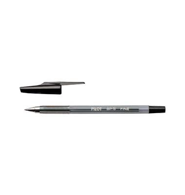 BP-S schwarz Kugelschreiber F 0,3mm mit Kappe