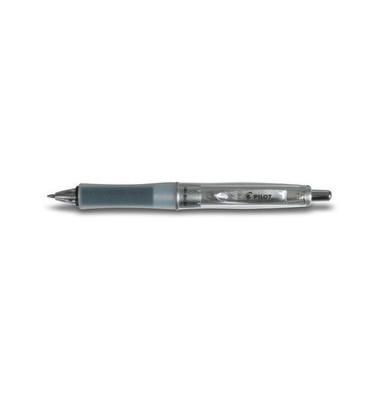 Kugelschreiber Equilibrium Dr. Grip BPDG-60RG-M schwarz/transparent 0,4 mm