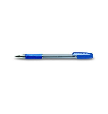 Kugelschreiber BPS-GP blau/transparent 0,5 mm mit Kappe