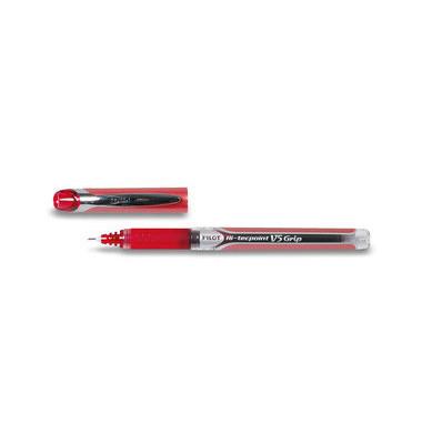 Tintenroller HI-TecpointGripV5 rot 0,3 mm