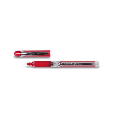 Tintenroller Hi-tecpointGripV10 rot 0,7 mm