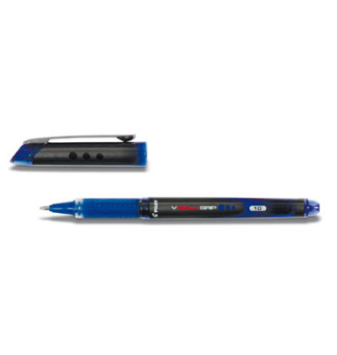 Tintenroller V Ball Grip BLN-VBG10 blau 0,6 mm mit Kappe