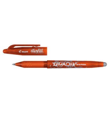 Tintenroller Frixion Ball BL-FR7 orange 0,4 mm mit Kappe
