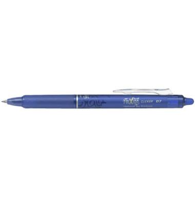 Tintenroller Frixion Ball Clicker BLRT-FR7 blau 0,4 mm