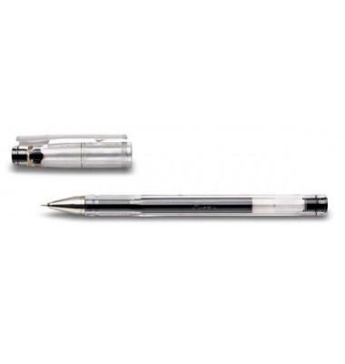 Gelschreiber G-Tec C4 BL-GC4 schwarz 0,2 mm mit Kappe