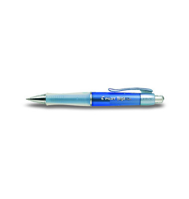 Gelschreiber Vega BL-415V blau/transparent 0,4 mm