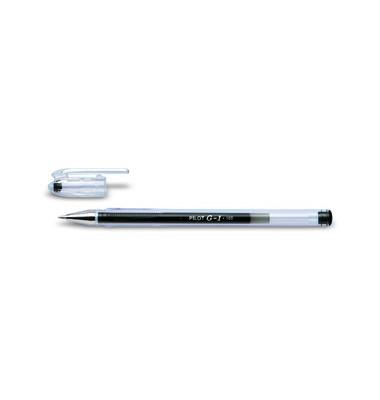 Gelschreiber G1 Klassik BL-G1-5T schwarz 0,3 mm mit Kappe