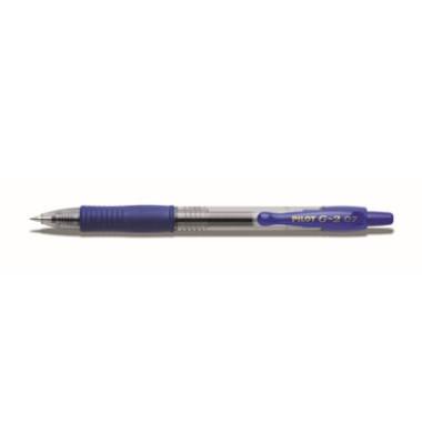 Gelschreiber G2-7 BL-G2-07 blau 0,4mm Druckmechanik