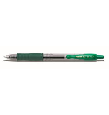 Gelschreiber G-2 BL-G2-07 grün 0,4 mm mit Druckmechanik