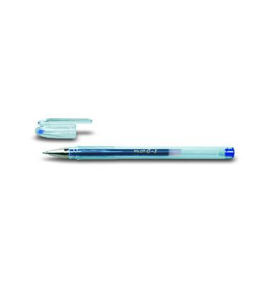Gelschreiber G-1 BL-G1-7 blau 0,4 mm mit Kappe