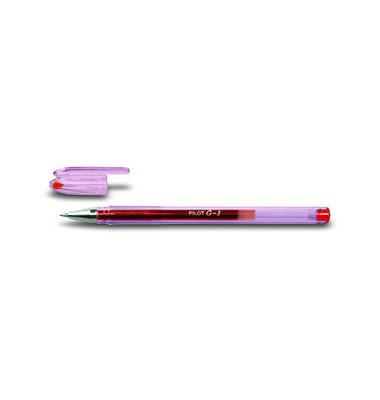Gelschreiber G-1 BL-G1-7 rot 0,4 mm mit Kappe