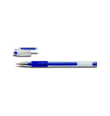 Gelschreiber G-1 Grip BLGP-G1-10 blau 0,6 mm mit Kappe