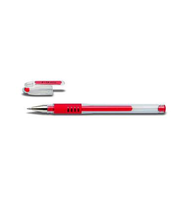 Gelschreiber G-1 Grip BLGP-G1-10 rot 0,6 mm mit Kappe