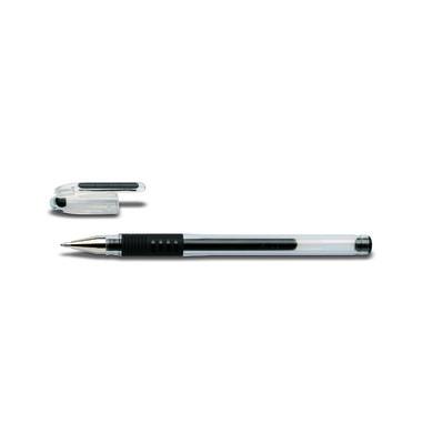 Gelschreiber G-1 Grip BLGP-G1-10 schwarz 0,6 mm