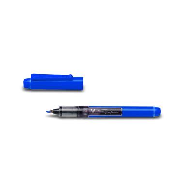 Faserschreiber V Sign Pen blau SW-VSP-L 0,6mm