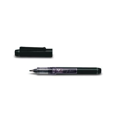 Faserschreiber V Sign Pen schwarz SW-VSP-B 0,6mm
