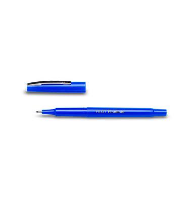 Fineliner SW-PPF blau 0,4 mm  mit Kappe
